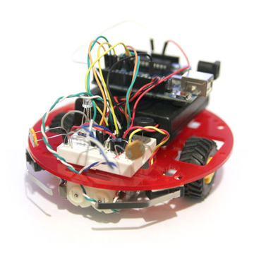 how to build a programmable auduino robot