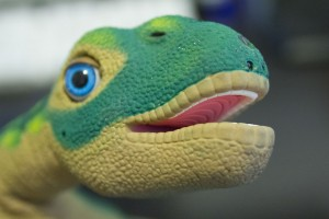 pleo robot speaking